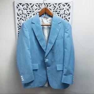 Vintage Seersucker Jacket and Pants